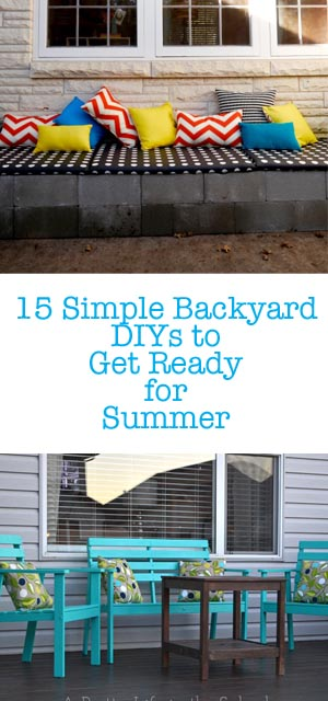 15 Simple Backyard DIYs to Get Ready for Summer 2
