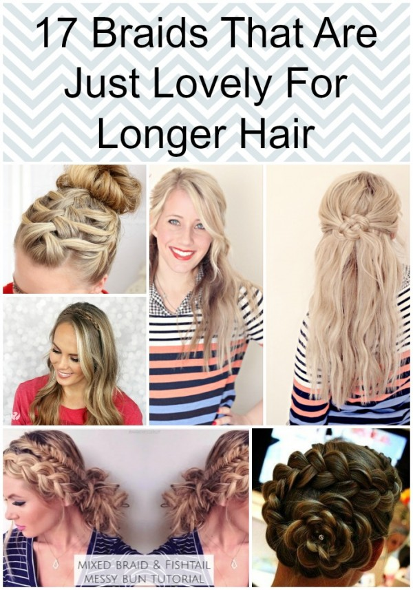 17 Braids That Are Just Lovely For Longer Hair pin