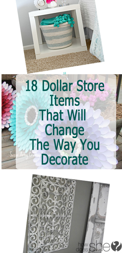 Items To Decorate Living Room: How To Decorate With Dollar Store Items
