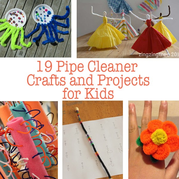 craft ideas for pipe cleaners 19 pipe cleaner crafts and projects 6223