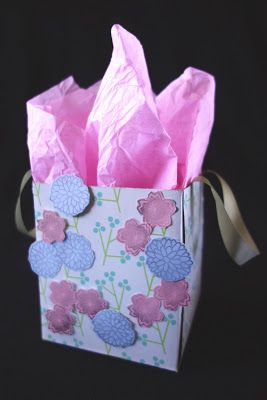 tissue box gift bag