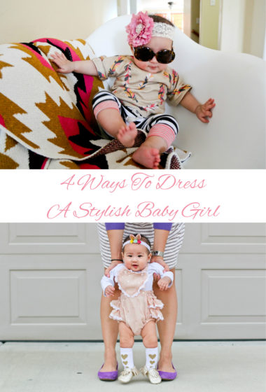 4 Ways To Dress A Stylish Baby Girl Pinterest
