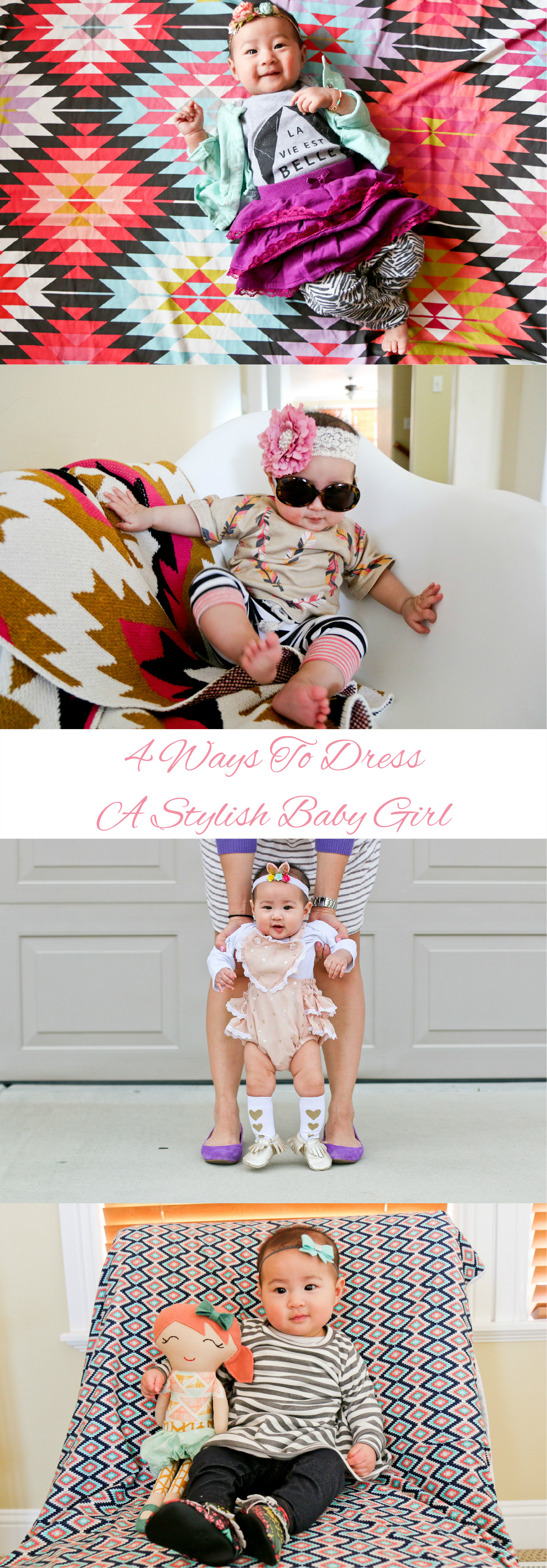 4 Ways To Dress A Stylish Baby Girl Pinterest
