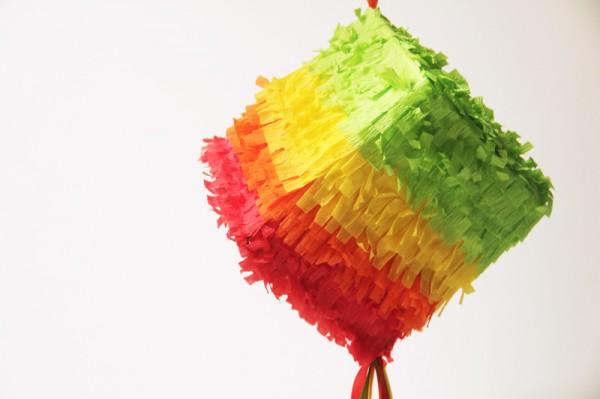 tissue box piñata