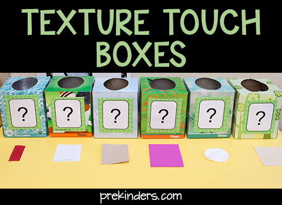 empty tissue box preschool