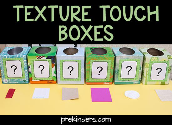 empty tissue box preschool