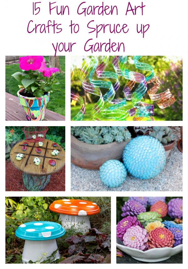 Garden Art Crafts