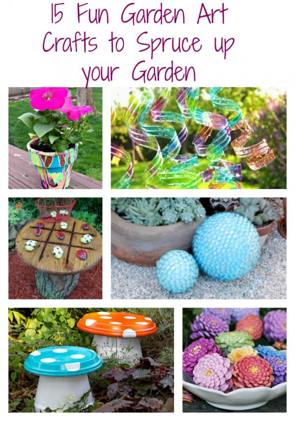 Garden Art Crafts