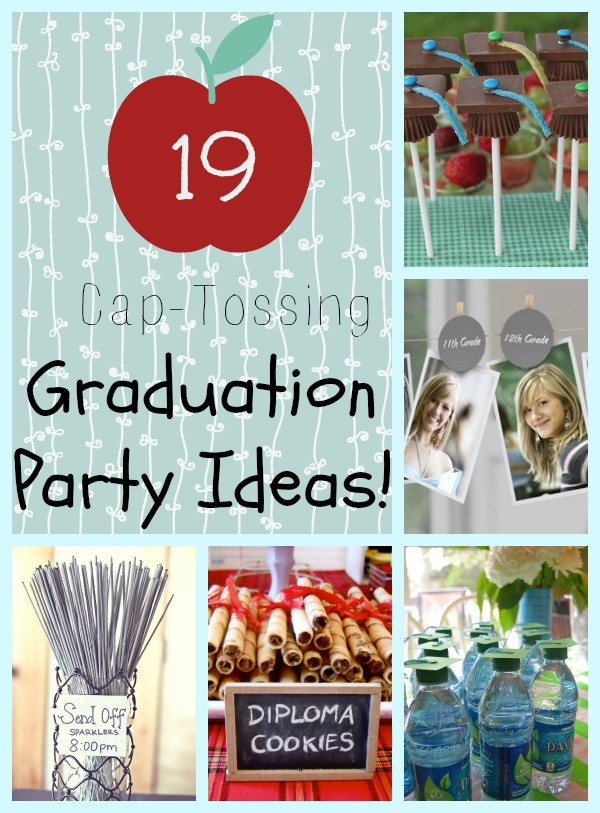 19 Cap Tossing Graduation Party Ideas How Does She