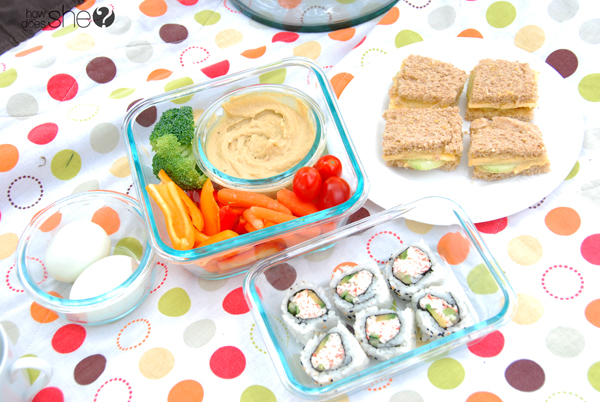 Ideas for packing a healthy picnic (12)
