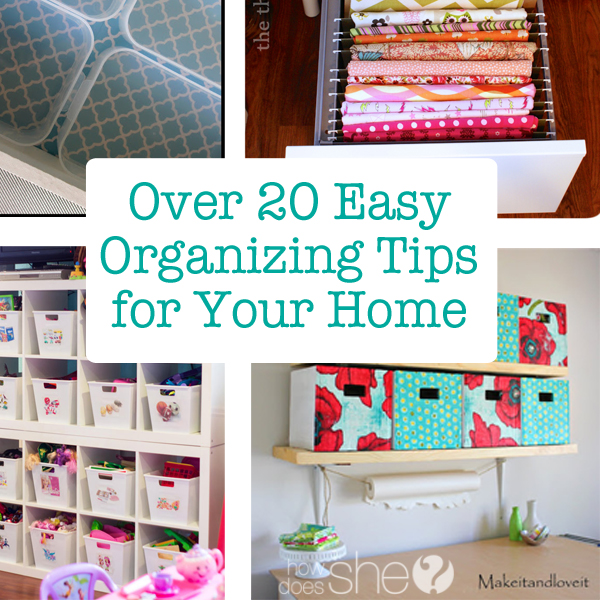 Behold: easy ways to simplify your life and turn your home into a haven of order.