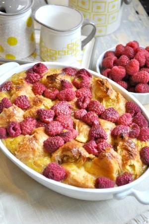 Raspberry-Croissant-Breakfast-Casserole-2