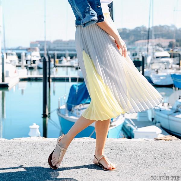 Stitch Fix Midi Skirt