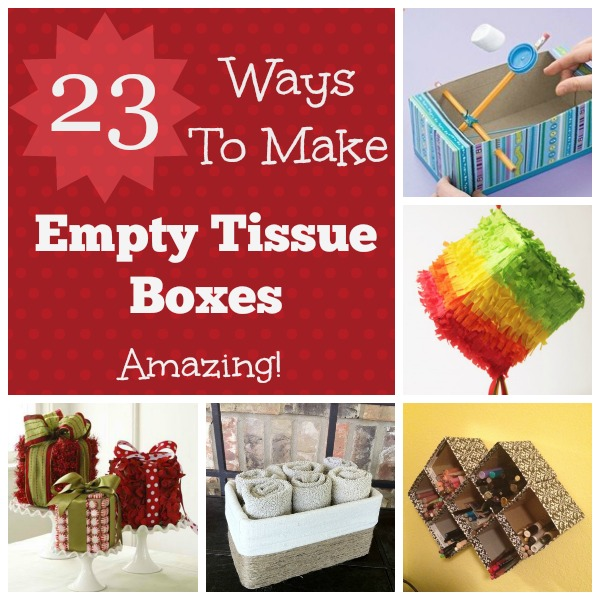 23 Amazing Uses for Empty Tissue Boxes