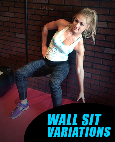 how to wall sit properly