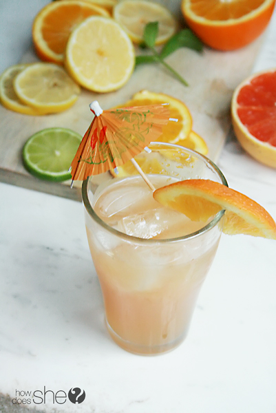 a twist on lemonade - keeping it healthy (4)