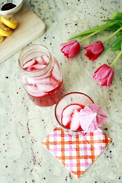 a twist on lemonade - keeping it healthy (6)