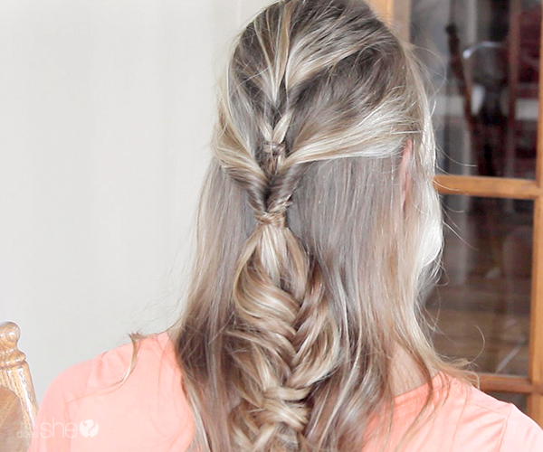 "HOW TO: Romantic ""Half-Up"" Hair Style"