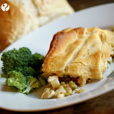 Easy Chicken Pot Pie Casserole Recipe *Introducing the Easy Peasy Cooking Series – 10 Minutes or less!