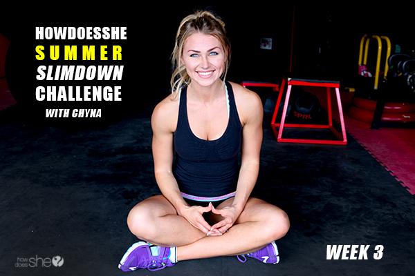 Summer Slim-Down Challenge – 4 Minute Core Burn