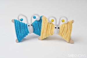 yarn-butterflies
