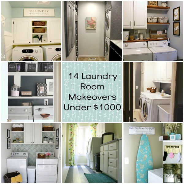 14 Laundry Room Makeovers Under $1000 fb