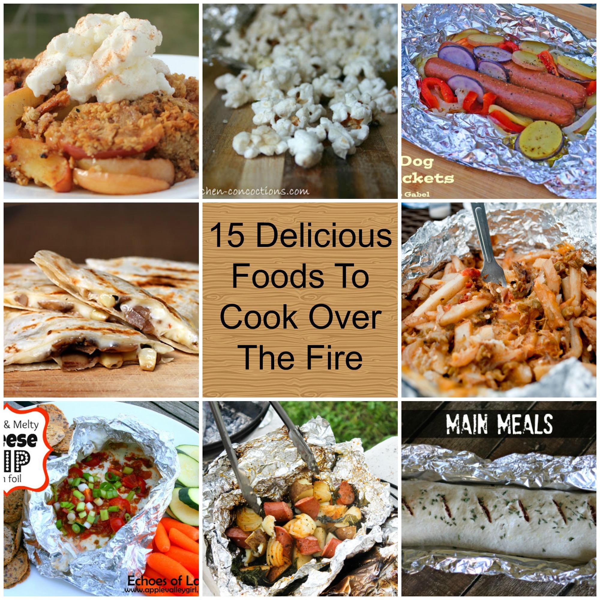 15 Delicious Campfire Foods
