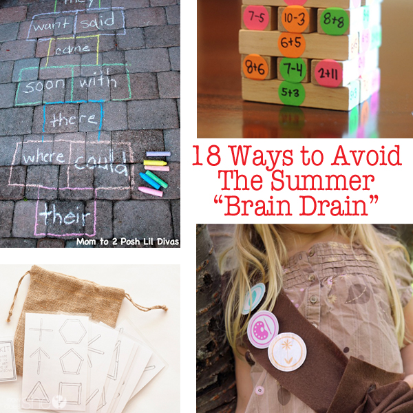 "18 Ways to Avoid the Summer ""Brain Drain"""