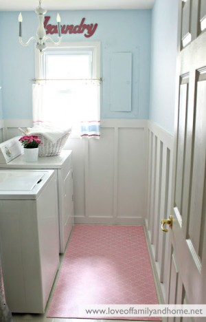 Blue & Pink Laundry Room Makeover 007 edited