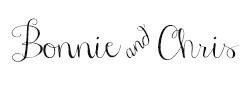 Bonnie and Chris Signature