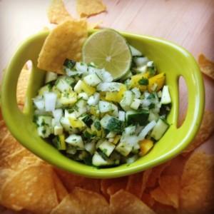 Cucumber-Salsa