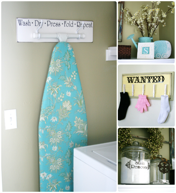 Laundry Room Accessories Decor: 14 Laundry Room Makeovers Under $1000