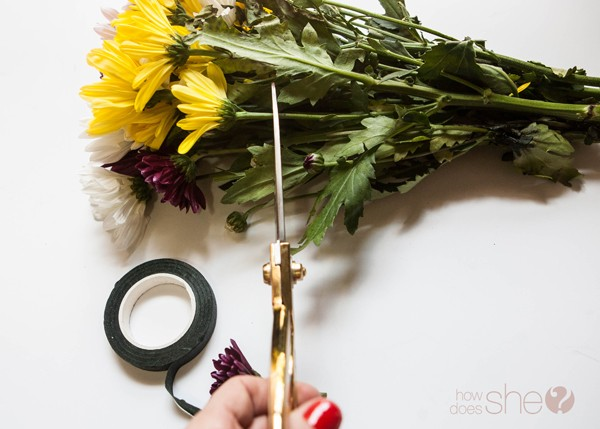 DIY flower crown for only $5 (10)