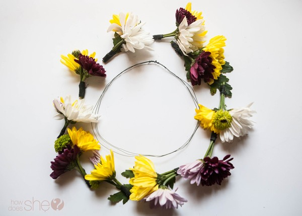 DIY flower crown for only $5 (11)