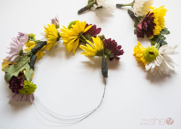 DIY flower crown for only $5 (15)