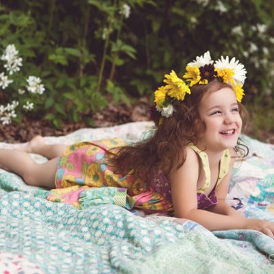 Floral Crown – only $5 to make!