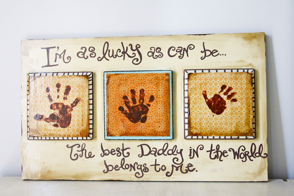 DIY Father's Day Gifts: Father's Day gifts from kids that Dad will ...