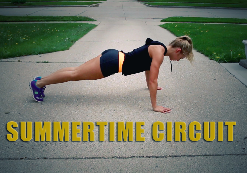 summer slimdown week 6! summertime circuit!