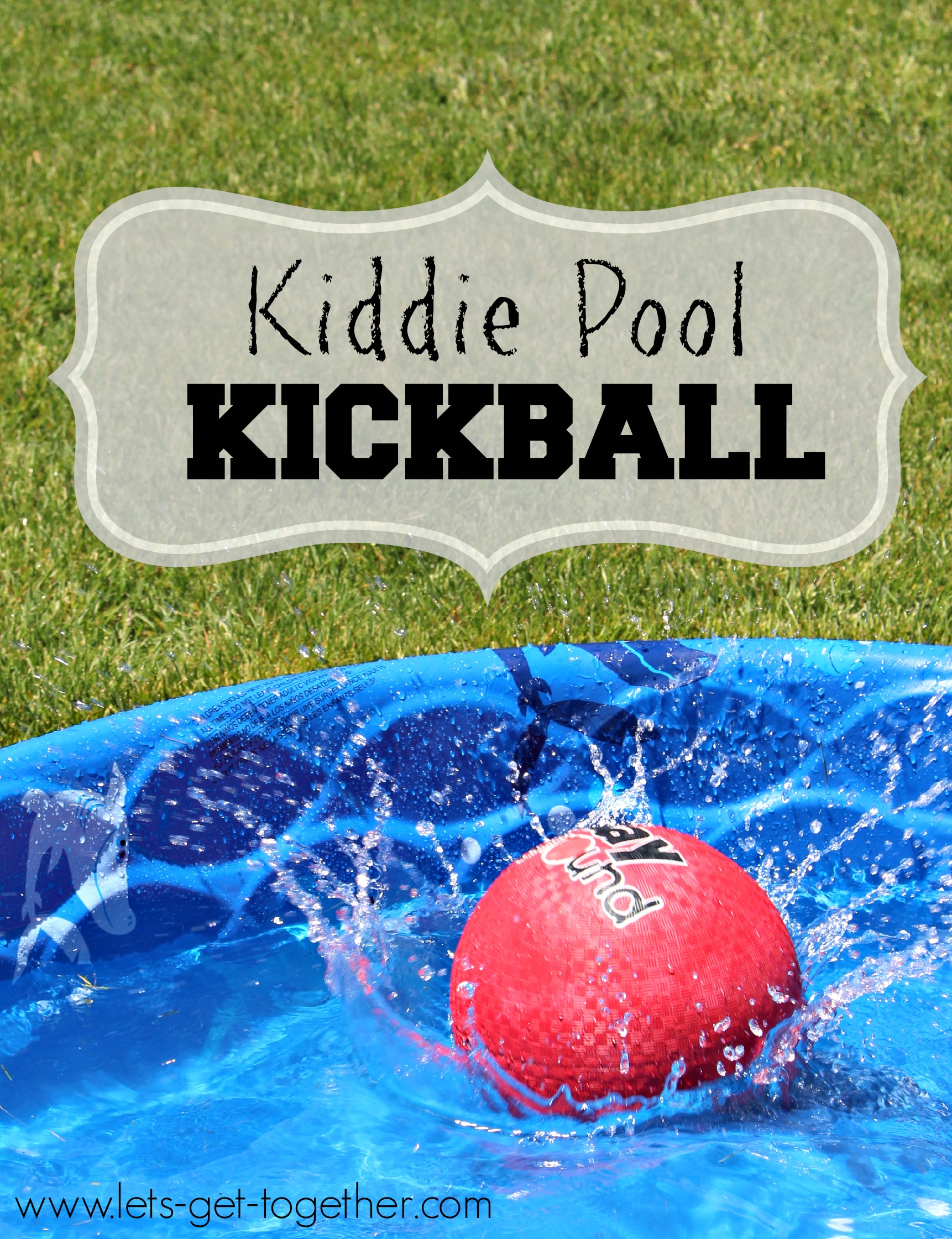 kiddie pool kickball water games
