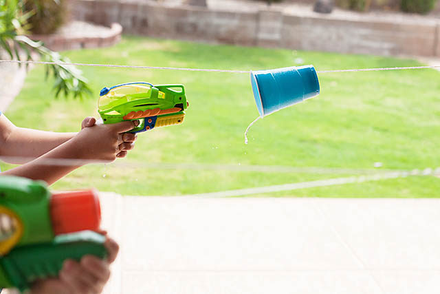 Water games water gun blaster game