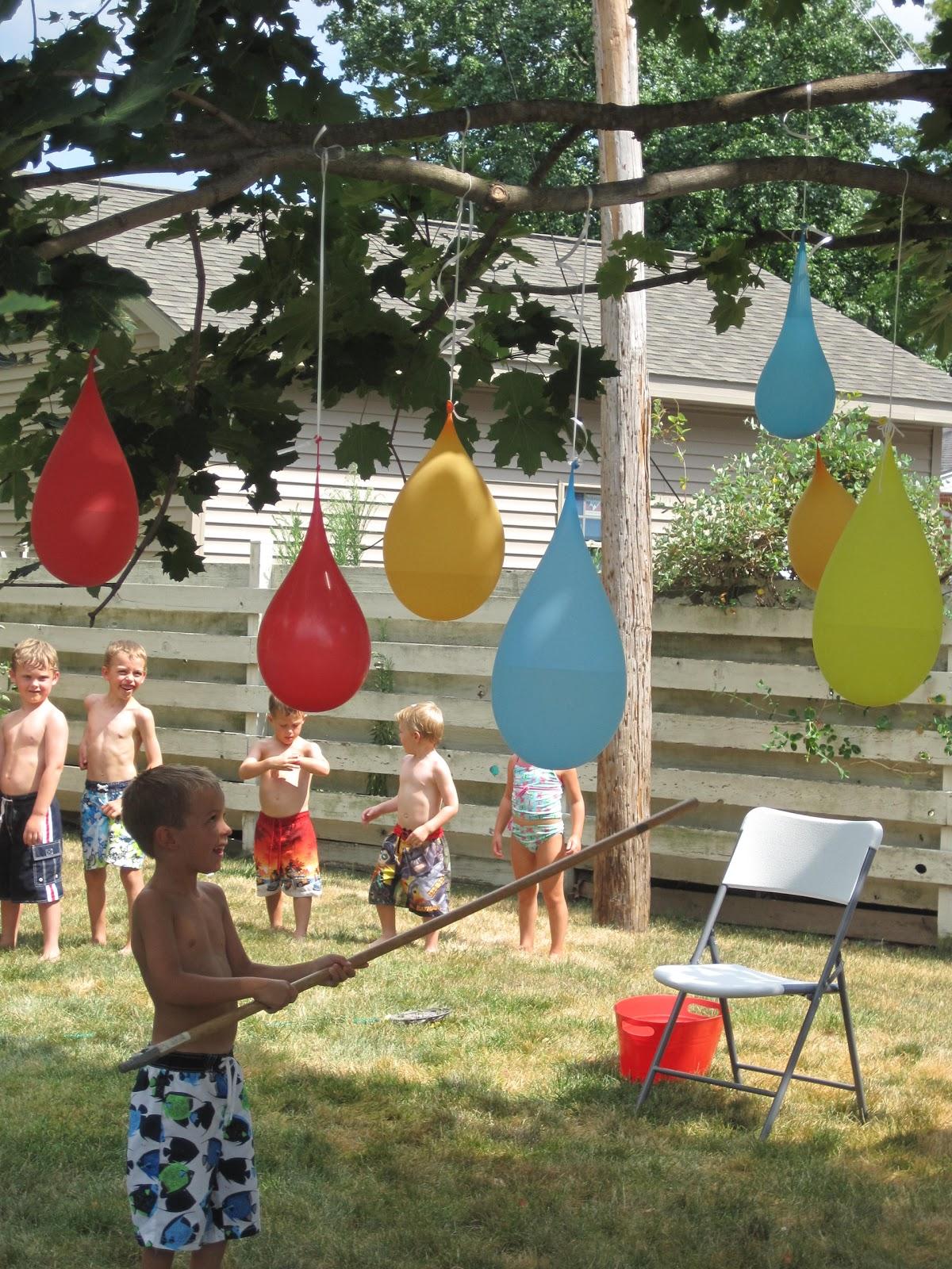 water balloons pinatas game