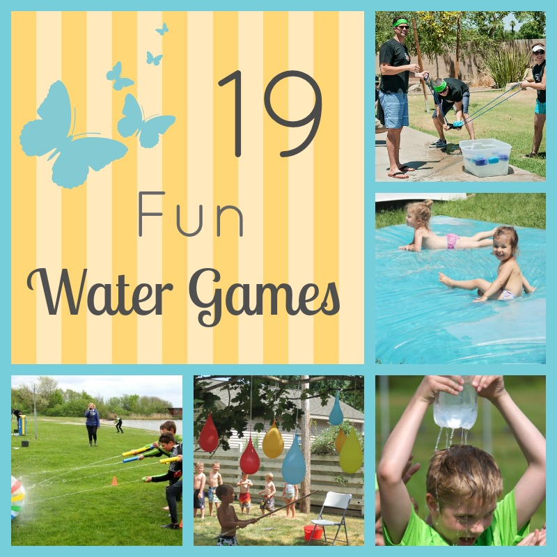 Water games Collage
