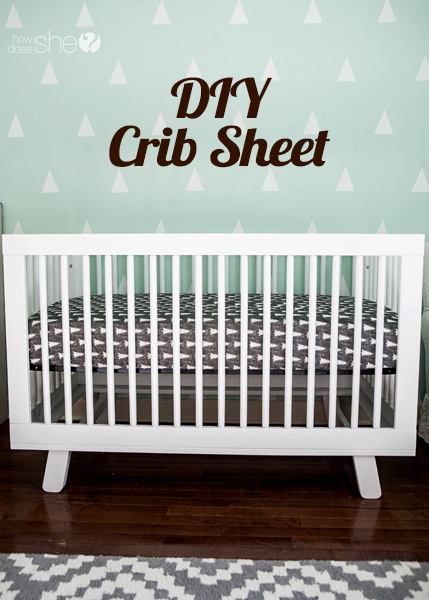 Crib Sheet DIY – You (yes, you!) Can Do It!