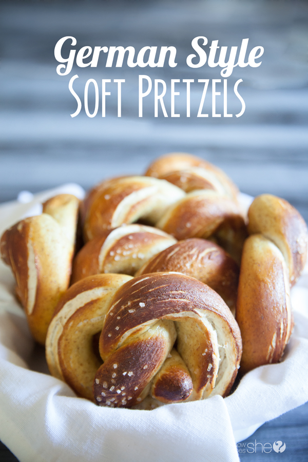 German Style Soft Pretzels