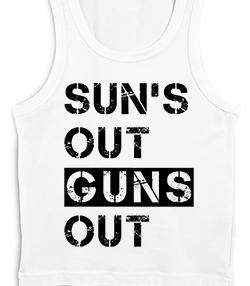 SUNS OUT, GUNS OUT - T-shirt Transfer