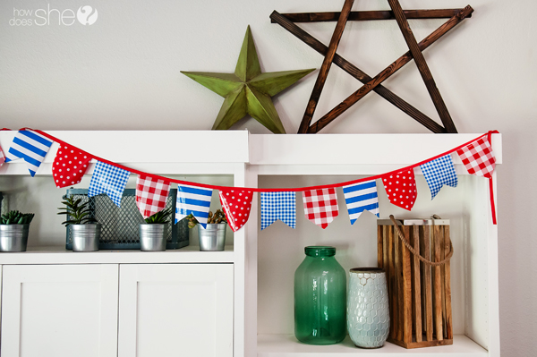 Easy Pennant Banner Tutorial