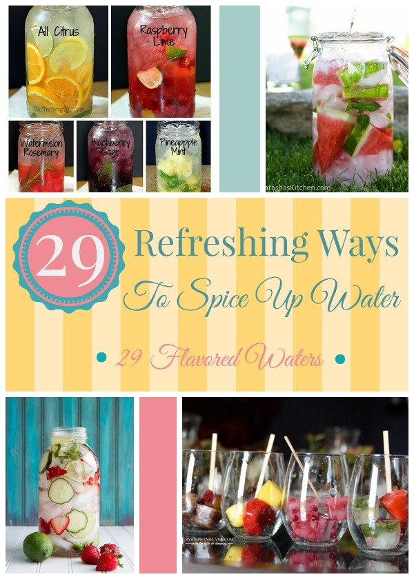 29 Refreshing Flavored Waters