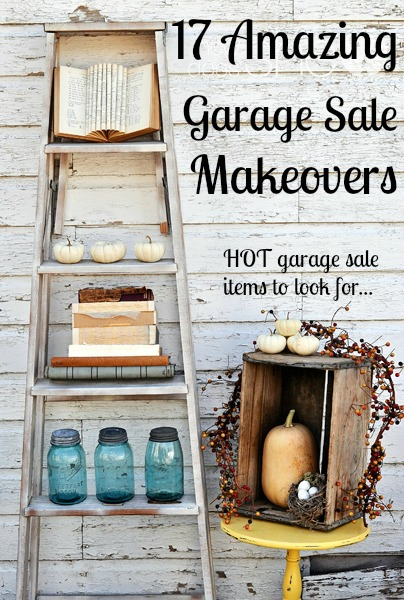 17 Amazing Garage Sale Makeovers