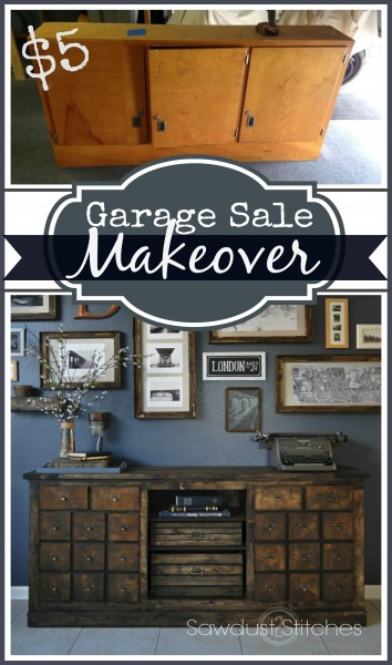 Garage sale makeover 1