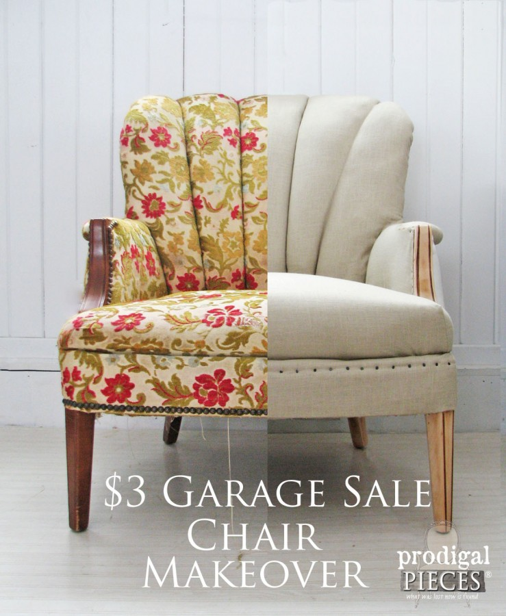 Garage sale makeover 2